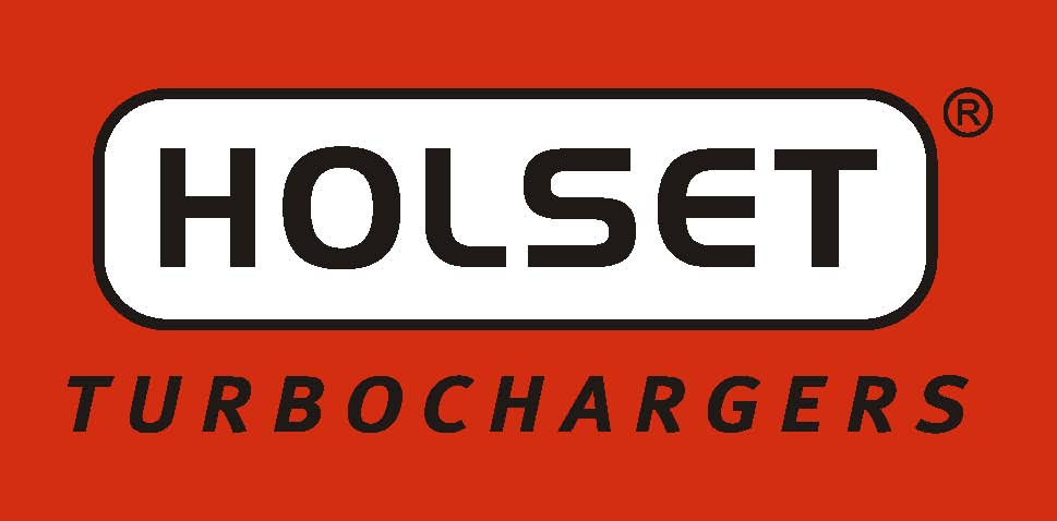 Holset Turbochargers Logo on Red with TM
